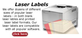 Laser labels: Design laser labels online using our laser label design templates